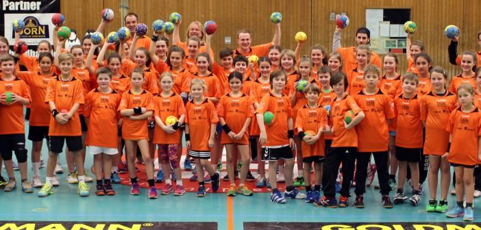 Handball Camp bei der DJK MIC Trier vom 07.-08. Januar 2016