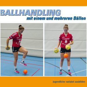 DVD4 BALLHANDLING - Jugendliche variabel ausbilden
