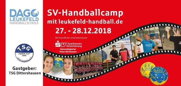 SV-Handballcamp beim TSG Dittershausen