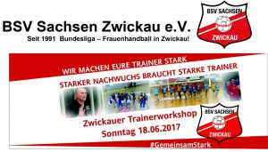 Einladung Trainerworkshop Zwickau