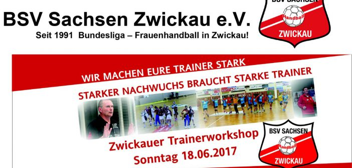 18.06.2017 Trainerworkshop in Zwickau