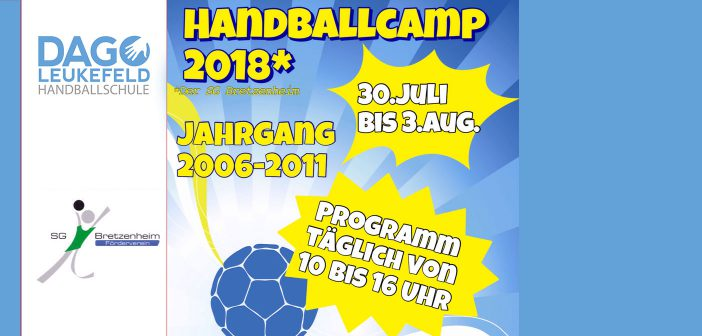Handballcamp beim SG Breztenheim