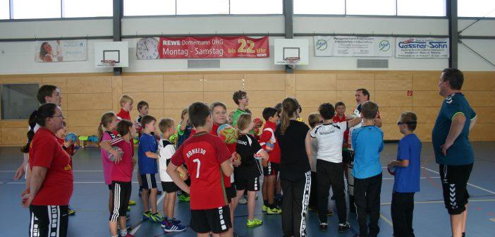 Ein Handballcamp mit Dago Leukefeld – HSG Espenau-Immenhausen