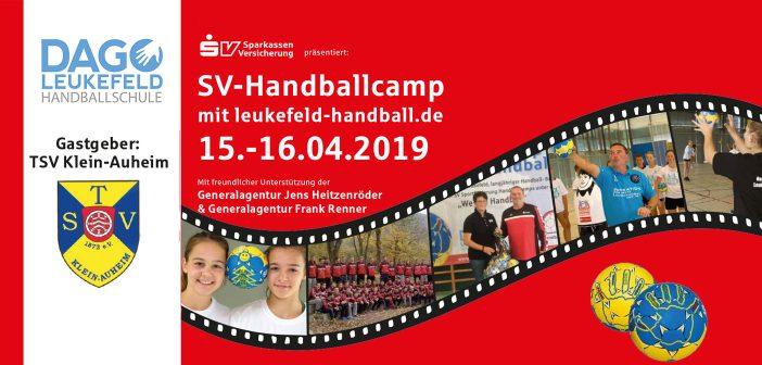 SV-Handballcamp beim TSV Klein-Auheim 2019
