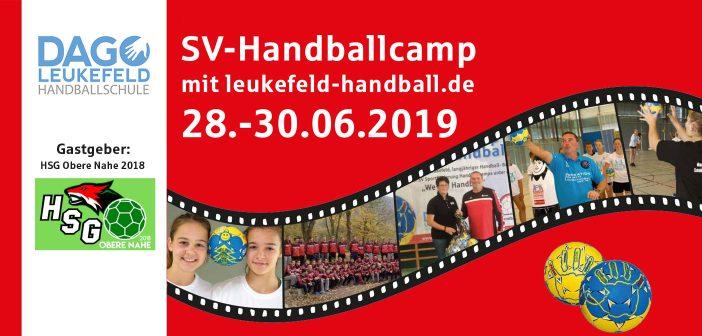 Handballcamp bei HSG Obere Nahe 2019