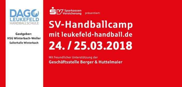 SV-Handballcamp bei HSG Winterbach-Weiler