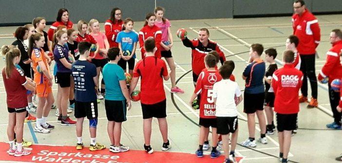 Handballcamp war voller Erfolg