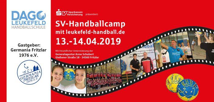 SV-Handballcamp bei Germania Fritzlar 2019