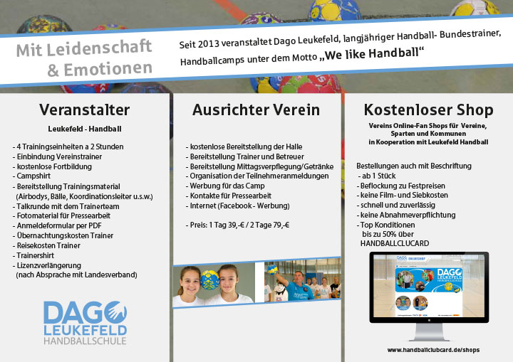 Dago-Leukefeld-Handballcamp-Handzettel