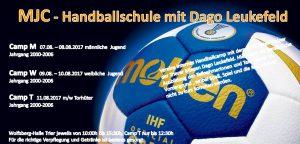 Handballcamp beim MJC Trier