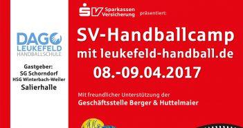 SV-Handballcamp bei der SG Schorndorf