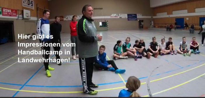 Impressionen vom Handballcamp in Landwehrhagen 2019