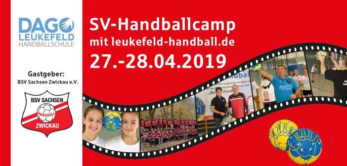 Handballcamp beim BSV Sachsen Zwickau 2019